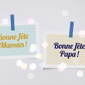 Un cadeau original pour la Fête des mères et des pères