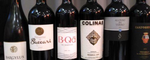 Dégustation vins étrangers pourtour Méditerranéen